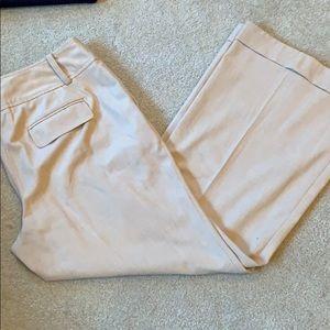 Ann Taylor khaki dress pants